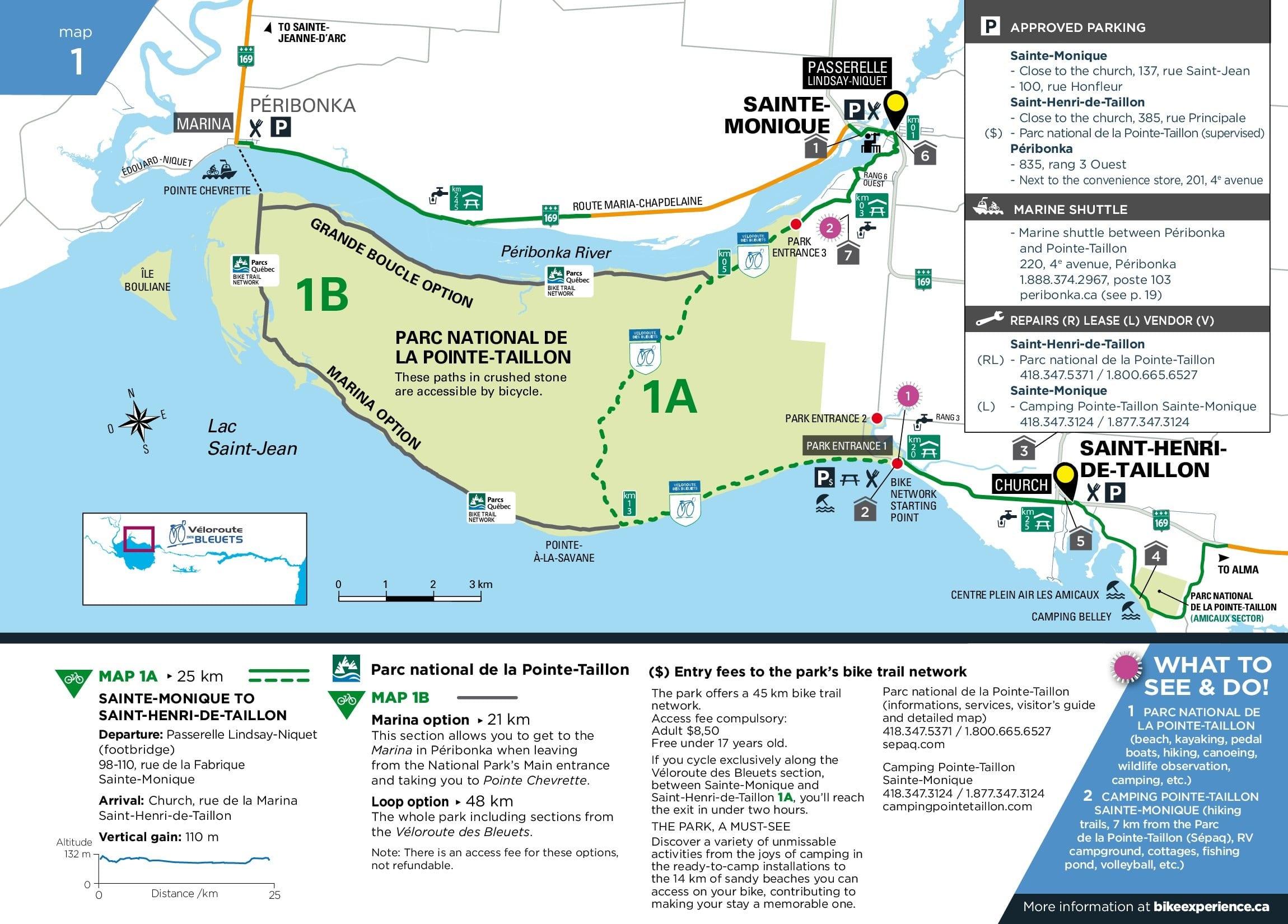 Map 347.Map 01 25 Km Bike Experience